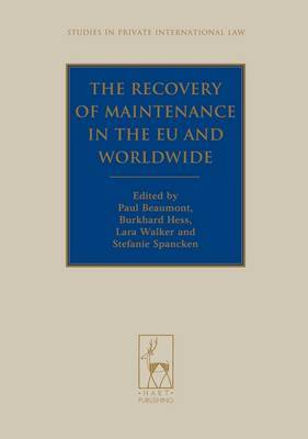 The Recovery of Maintenance in the EU and Worldwide
