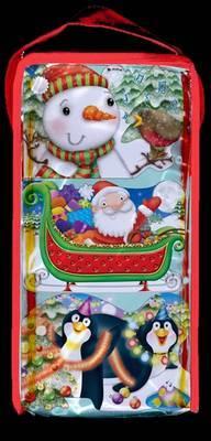 CHUNKIES Christmas Bag: Three CHUNKIE Board Books in a Bag with Handle