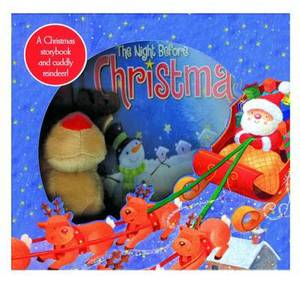Night Before Christmas: Box Set with Book and Plush