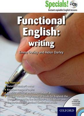 Secondary Specials! +CD: English - Functional English Writing