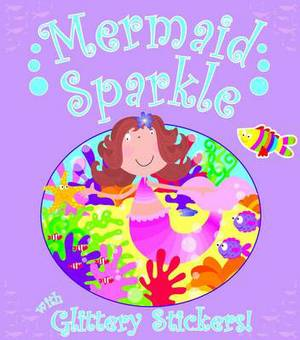 Glitter Mermaid Sticker Book