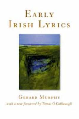 Early Irish Lyrics