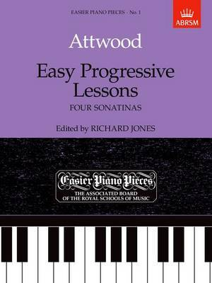 Easy Progressive Lessons: Easier Piano Pieces 01
