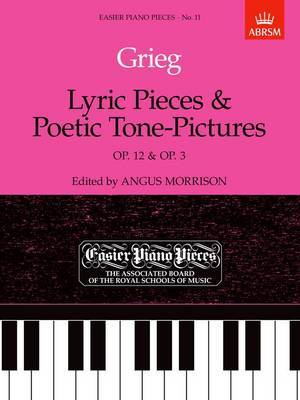 Lyric Pieces, Op. 12 and Poetic Tone-pictures, Op. 3: Easier Piano Pieces 11