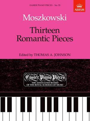 Thirteen Romantic Pieces: Easier Piano Pieces 55
