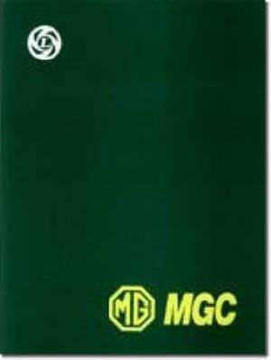 MG MGC Workshop Manual
