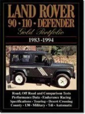 Land Rover 90/110 Defender Gold Portfolio, 1983-94
