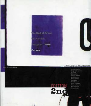 The End of Print: Graphic Design of David Carson