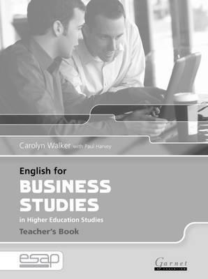English for Business Studies Teacher Book