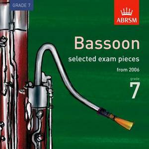 Selected Bassoon Exam Recordings, from 2006, Grade 7: 2006