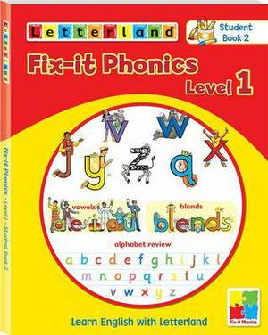 Fix-it Phonics: Learn English with Letterland: Level 1 : Studentbook 2