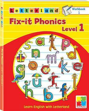 Fix-it Phonics: Learn English with Letterland: Level 1 : Workbook 1