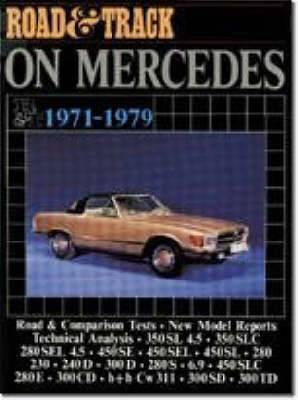 Road & Track  on Mercedes, 1971-79