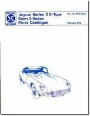 Jaguar E Type V12, Series 3: Parts Catalogue
