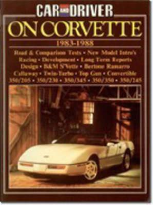 Car & Driver  on Corvette, 1983-88