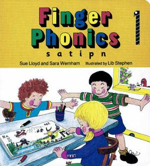 Finger Phonics: In Precursive Letters (BE): Book 1