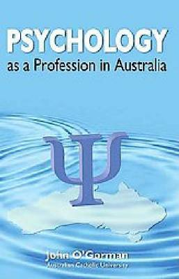 Psychology as a Profession in Australia