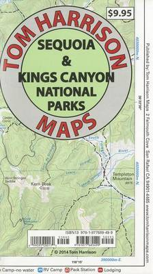 Se Quoia and Kings Canyon National Parks: Recreation Map