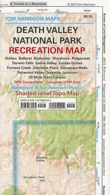 Death Valley National Park: Recreation Map