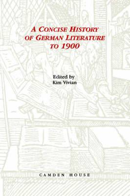 A Concise History of German Literature to 1900