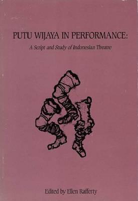 Putu Wijaya In Performance