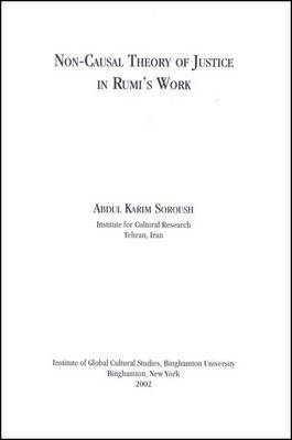 Non-causal Theory of Justice in Rumi's Work
