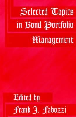 Selected Topics in Bond Portfolio Management