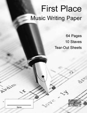 Ten Stave Manuscript Book