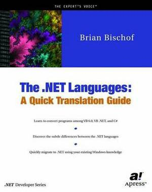The NET Languages: A Quick Translation Guide
