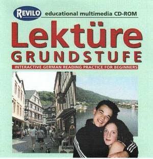 Lekture Grundstufe: Beginners' Interactive German Reading Practice