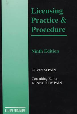 Licensing Practice and Procedure