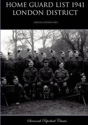 Home Guard List 1941: London District