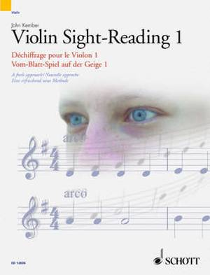 Violin Sight-reading: A Fresh Approach: Pt. 1