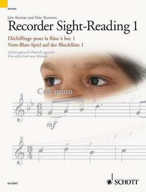 Recorder Sight-reading 1: A Fresh Approach: v.1