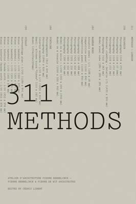 311 Methods: Atelier D'architecture Pierre Hebbelinck