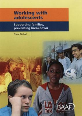 Working with Adolescents: Supporting Families, Preventing Breakdown