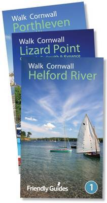Walk Cornwall Collection: Helford, Lizard Point, Porthleven