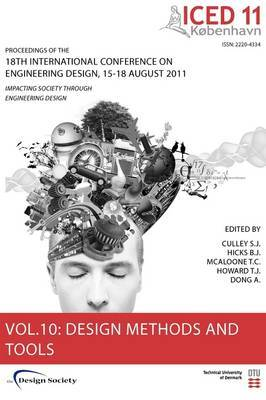 Proceedings of ICED11: Impacting Society Through Engineering Design: Vol. 10: Design Methods and Tools Part 2