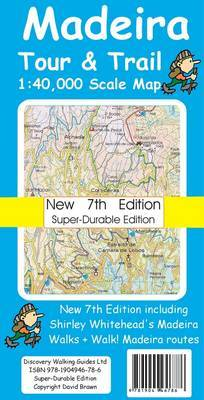Madeira Tour & Trail Map Super-durable Version