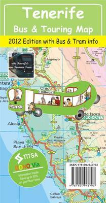 Tenerife Bus & Touring Map 2012 Edition
