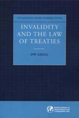 Invalidity and the Law of Treaties