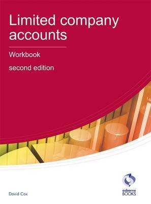 Limited Company Accounts Workbook