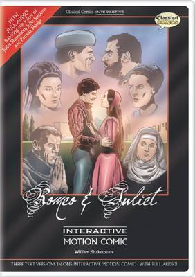 Romeo & Juliet Interactive Motion Comic  : Site License Edition