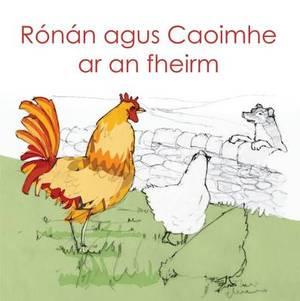 Ronan agus Caoimhe ar an fheirm