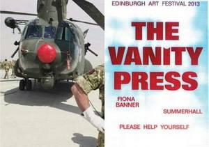The Vanity Press, Summerhall: Please Help Yourself