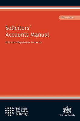 Solicitors' Accounts Manual