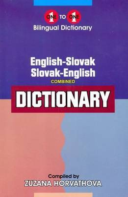 English-Slovak & Slovak-English One-to-One Dictionary: (Exam-Suitable)