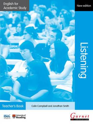 English for Academic Study: Listening Teacher's Book - Edition 2
