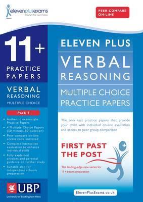 11+ Verbal Reasoning Multiple Choice Practice Papers: Pack 1