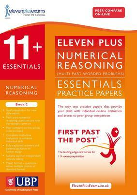 11+ Essentials Numerical Reasoning: Maths Worded Problems: Book 2